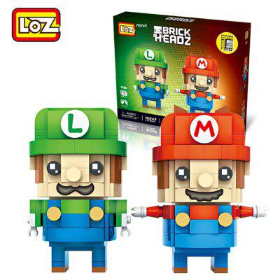 LOZ Figure Style Cartoon ABS Building Brick - 384pcs