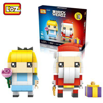 LOZ Figure Style Cartoon ABS Building Brick - 281pcs