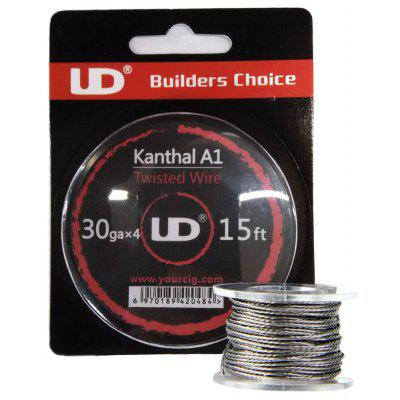 Original Youde UD 30ga x 4 Kanthal A1 Twisted Wire
