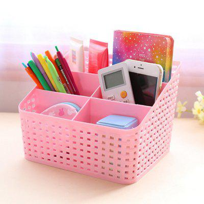 SUMSHUN Weave Cosmetic Storage Box Case