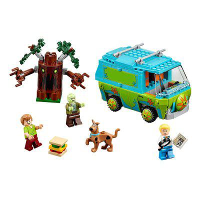 Cartoon Figure Design ABS Building Brick - 305pcs