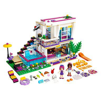 Figure Style Cartoon ABS Building Brick - 619pcs