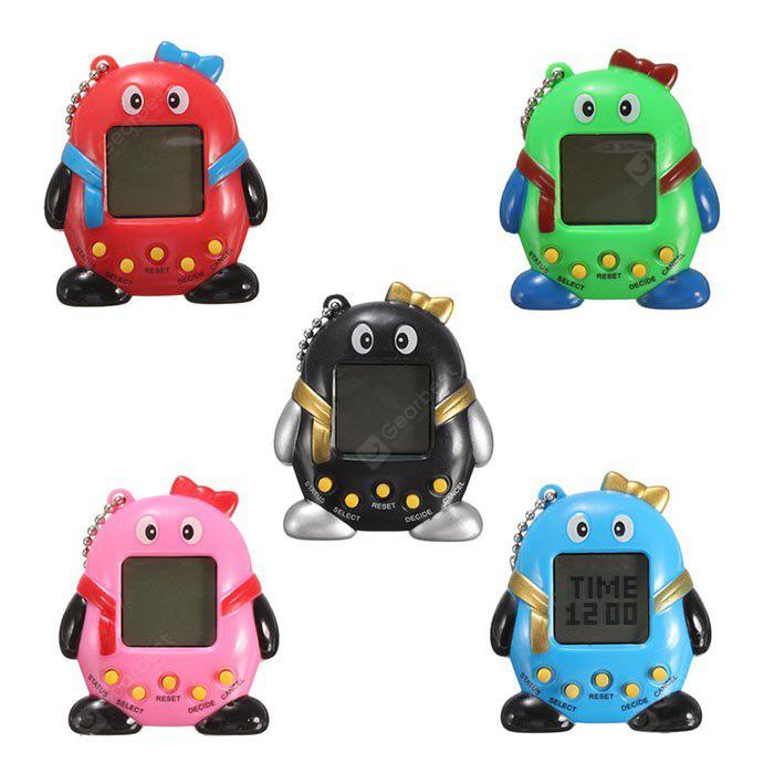Key Chain Design Nostalgic 49 in 1 Electronic Pet Toy - 1pc - COLORMIX