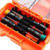 JAKEMY JM - 9103 Multi-purpose 18 in 1 Screwdriver Set - DARKSALMON