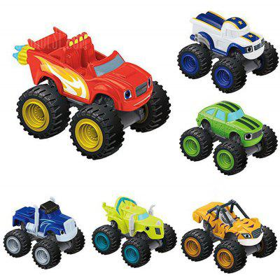 Intelligence Car Children Present - 6pcs / set