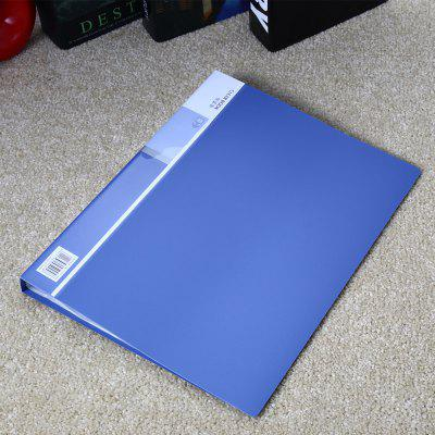 Deli 5004 A4 Clear Book with 40 Pages