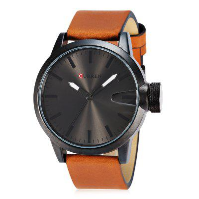 CURREN 8208 Casual Men Quartz WatchMens Watches<br>CURREN 8208 Casual Men Quartz Watch<br><br>Band material: Leather<br>Band size: 27 x 2.3 cm / 10.63 x 0.91 inches<br>Brand: Curren<br>Case material: Alloy<br>Clasp type: Pin buckle<br>Dial size: 5 x 5 x 2 cm / 1.97 x 1.97 x 0.79 inches<br>Display type: Analog<br>Movement type: Quartz watch<br>Package Contents: 1 x CURREN 8208 Casual Men Quartz Watch, 1 x Box<br>Package size (L x W x H): 11.30 x 8.30 x 6.80 cm / 4.45 x 3.27 x 2.68 inches<br>Package weight: 0.218 kg<br>Product size (L x W x H): 27.00 x 5.00 x 2.00 cm / 10.63 x 1.97 x 0.79 inches<br>Product weight: 0.088 kg<br>Shape of the dial: Round<br>Special features: Date<br>Watch color: Blue, Gold, Black + Silver, Silver, Black<br>Watch style: Casual<br>Watches categories: Male table<br>Water resistance: Life water resistant<br>Wearable length: 19.7 - 24.6 cm / 7.76 - 9.69 inches