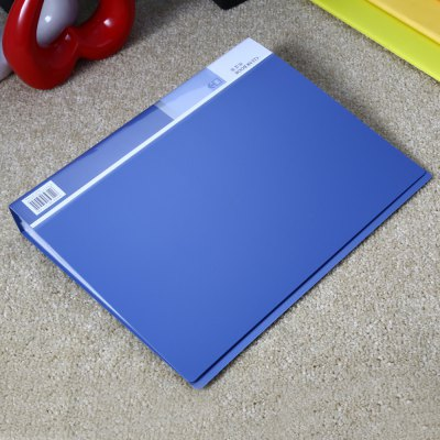 Buy Deli 5005 A4 Clear Book Office Supplies BLUE for $7.01 in GearBest store