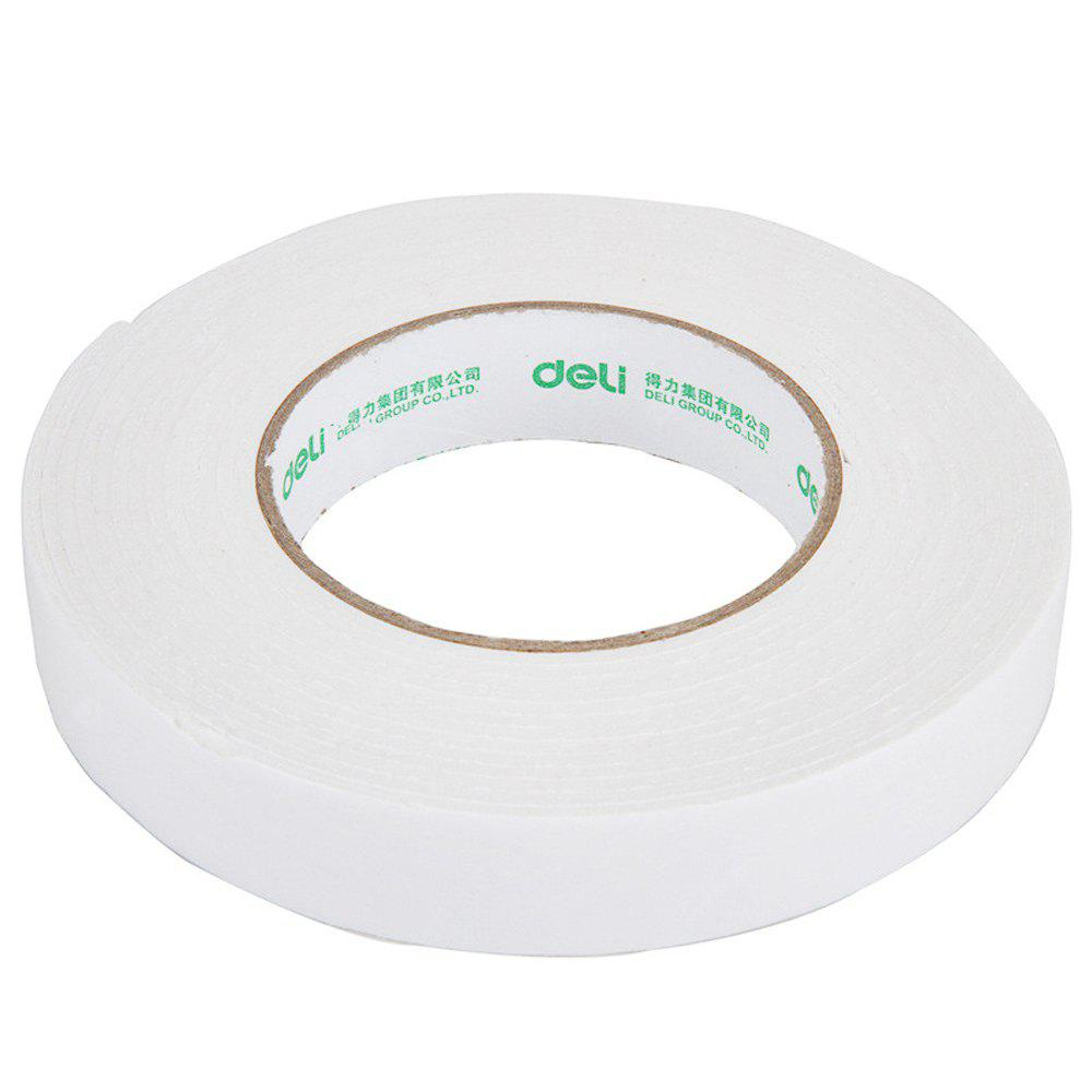 Deli 30412 4.5m Double-sided Paper Adhesive Tape 12PCS