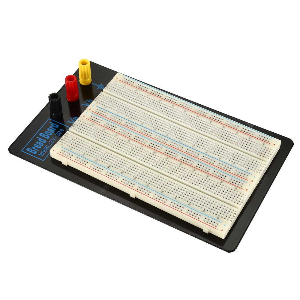 ZY - 204 Solderless 1660 Hole Breadboard with Binding Post