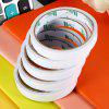 HEXING 5PCS Double-sided Paper Adhesive Tape - WHITE