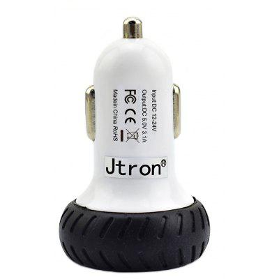 Original Jtron Car Charger USB Adapter Port Power Supply