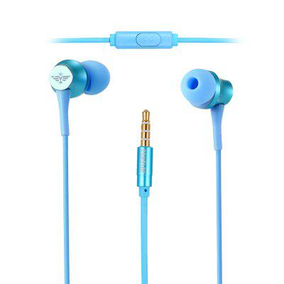 T3 songful on-cavo di controllo Wired auricolari In-Ear
