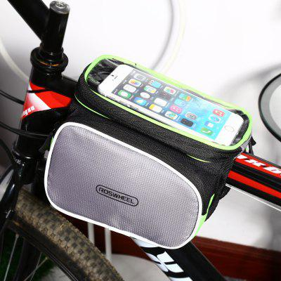ROSWHEEL D12813 2L Touch Screen Bike Front Tube Bag