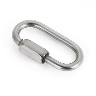 Oval Screw Lock Carabiner