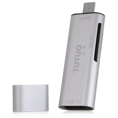 TUTUO V15 Type-C на USB 3.0 SD / TF кард-ридер