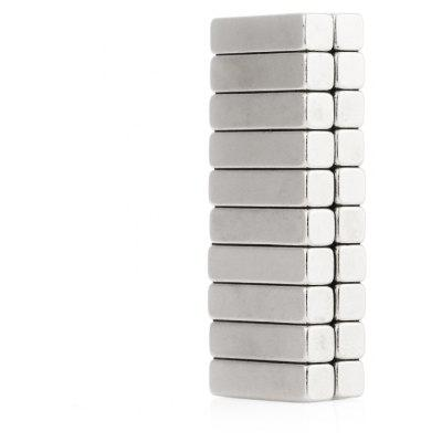 20 x 5 x 5mm N38 Powerful NdFeB Square Magnet