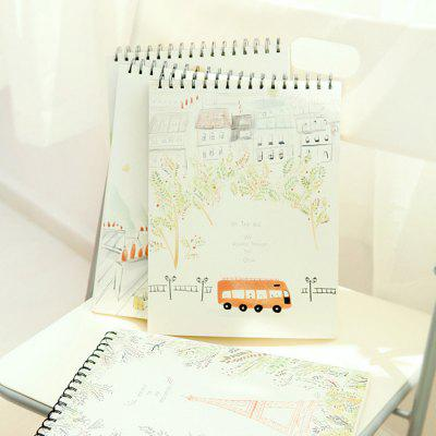 4PCS Sketch Book for Artist Sketch