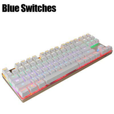Team Wolf ZHUQUE X05 CIY Wired Mechanical Keyboard with LED Indicator