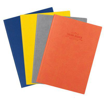 Deli 4PCS Note Book with PU Leather