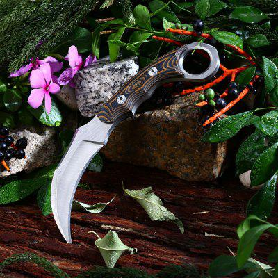 Fixed Blade Claw Knife