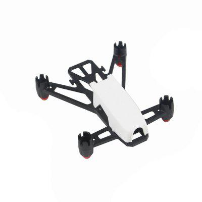 Buy WHITE KingKong Q100 100mm DIY Plastic Frame Kit for $2.69 in GearBest store