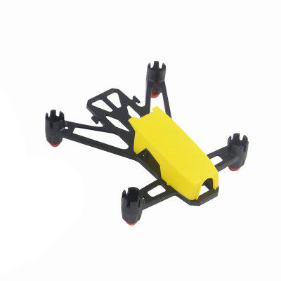 Buy YELLOW KingKong Q100 100mm DIY Plastic Frame Kit for $5.89 in GearBest store