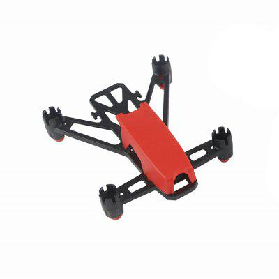 Buy KingKong Q100 100mm DIY Plastic Frame Kit RED for $5.46 in GearBest store