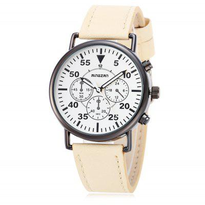 mingzan 6305 Casual Unisex Quartz Watch