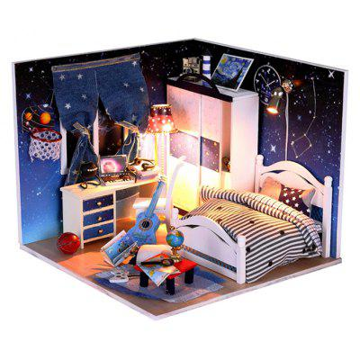 Miniature Doll House Shape Art DIY Handicraft Toy