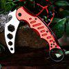 Dull Blade Survival Hunting Knife - RED