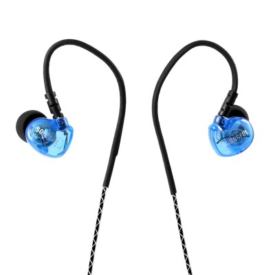 SONGFUL S1 Wired Noise Cancelling Earbuds Sports In Ear Earphones