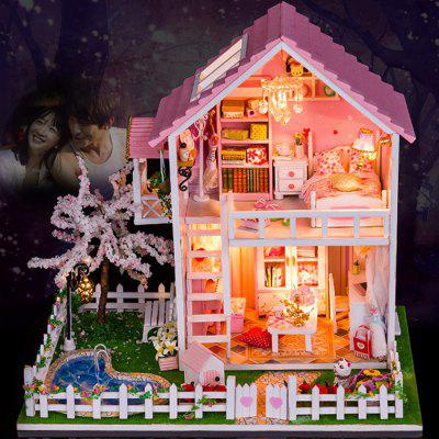 Mini DIY House Style Art Handicraft Toy