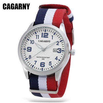 CAGARNY 6859 Quartz Watch for Men Women