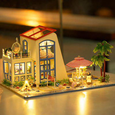 Wooden House Miniature Kit