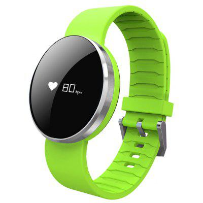 Buy GREEN UW1 Dynamic Heart Rate Monitor Smart Wristband for $24.89 in GearBest store
