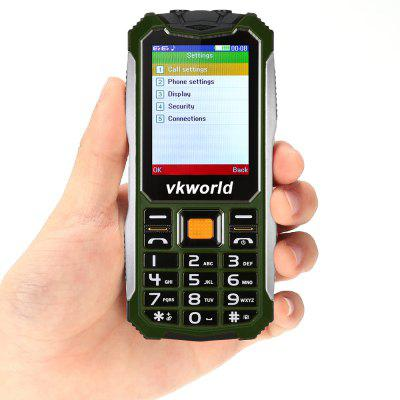 Vkworld V3S Quad Band Unlocked PhoneFeatured Phones<br>Vkworld V3S Quad Band Unlocked Phone<br><br>Additional Features: People, Bluetooth, FM, MP3<br>Back-camera: 0.3MP<br>Battery: 1 x 2200mAh<br>Bluetooth: Yes<br>Brand: VKWORLD<br>Camera type: Single camera<br>Cell Phone: 1<br>Charger: 1<br>External Memory: TF card up to 8GB (not included)<br>Frequency: GSM 850/900/1800/1900MHz<br>Languages: English, French, German, Italian<br>Micro USB Slot: Yes<br>Music format: MP3<br>Network type: GSM<br>Package size: 14.30 x 9.80 x 8.00 cm / 5.63 x 3.86 x 3.15 inches<br>Package weight: 0.2570 kg<br>Picture format: JPEG<br>Product size: 12.70 x 5.75 x 1.46 cm / 5 x 2.26 x 0.57 inches<br>Product weight: 0.0850 kg<br>RAM: 32MB<br>ROM: 32MB<br>Screen resolution: 240x320<br>Screen size: 2.4 inch<br>SIM Card Slot: Dual SIM, Dual Standby<br>Speaker: Supported<br>TF card slot: Yes<br>Type: Bar Phone<br>User Manual: 1