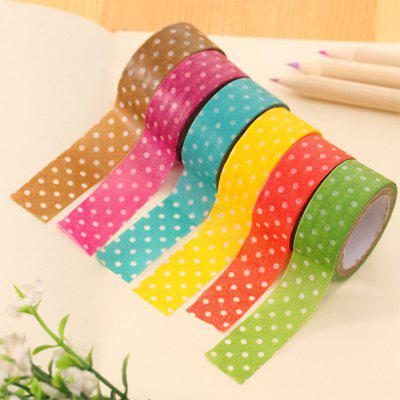 10PCS Paper Adhesive Tape for DIY
