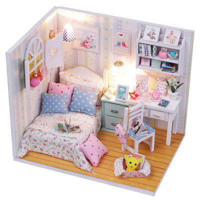 Miniature DIY Doll House Theme Handicraft Toy