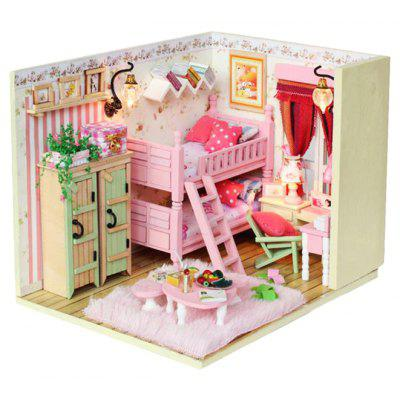 Miniature DIY Doll House Theme Art Handicraft Toy