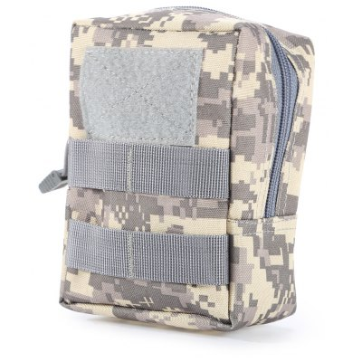 Buy ACU CAMOUFLAGE Portable Water-resistant Nylon Waist Bag Mobile Phone Pouch for $4.12 in GearBest store