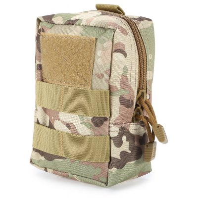 Buy CP CAMOUFLAGE Portable Water-resistant Nylon Waist Bag Mobile Phone Pouch for $4.28 in GearBest store