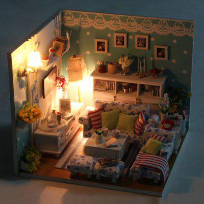 Miniature DIY House Style Art Furniture Handcraft Toy