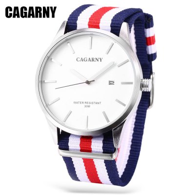 CAGARNY 6865 Quartz Watch for Men Women