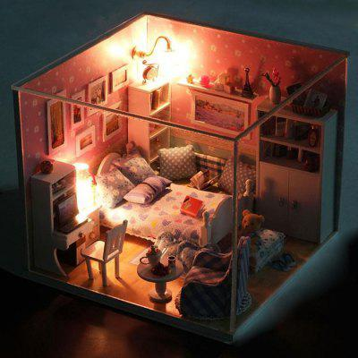 Miniature DIY Doll House Handicraft Toy Christmas Present