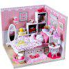 Miniature DIY Doll House Shape Furniture Handcraft Toy - COLORMIX
