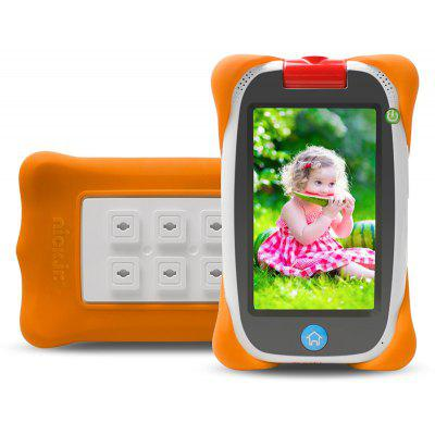 Nabi JR - NV5B Kids Tablet PC  -  ORANGE SILICONE CASE + WHITE TABLET + EU PLUG  WHITE