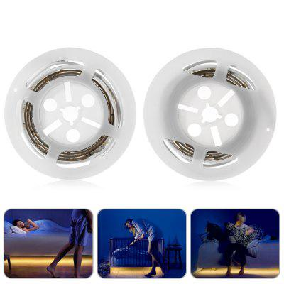 2pcs BRELONG 1.2M 36-LED Motion Sensor Light Strip