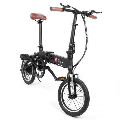F - wheel DYU - 1 14 inch Smart Folding Bike Electric Bicycle