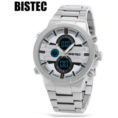 BISTEC 209 Dual Movement Men Digital Quartz Watch